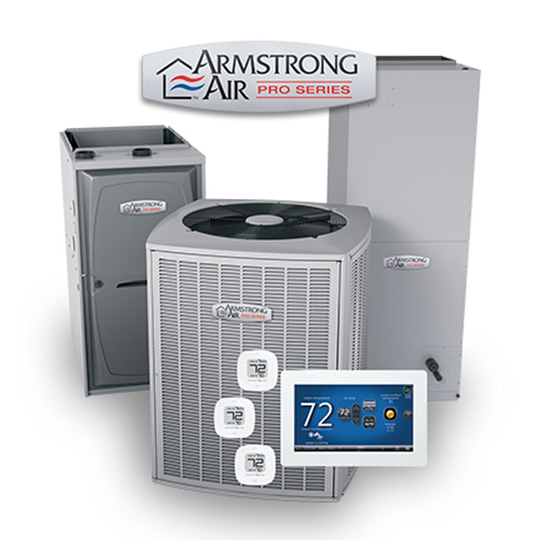 Armstrong Air's lineup of heating and cooling systems are reliable and efficient!